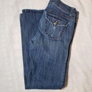 Cabi button pocket jeans.